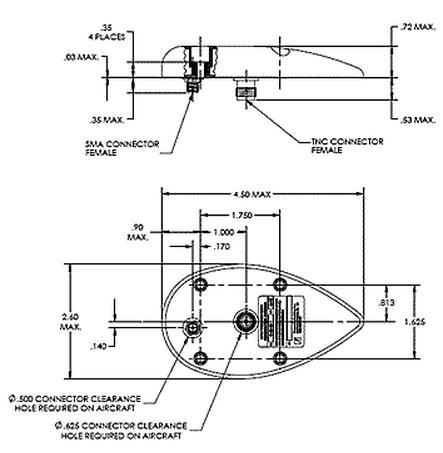 aircraft antenna location aircraft vhf antenna wiring