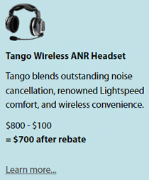 Tango Wireless ANR Headset