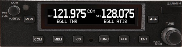 garmin panel mount com radio gtr 225a 225b from pilotshop com rh m pilotshop com Garmin GTR 255 Garmin GTR 255