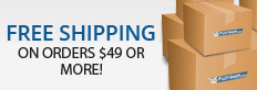 Free Shipping On Orders $75 or More!